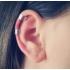 Ear cuffs (кафф) Аниме звезда цвет серебро мини  фото пирсинг 4