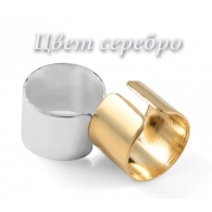Ear cuffs (кафф) Аниме серебро мини