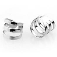 Ear cuffs (кафф) Трио цвет серебро