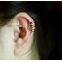 Ear cuffs (кафф) Ариадна цвет золото фото пирсинг 2