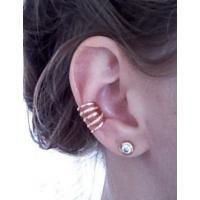 Пирсинг Ear cuffs (кафф) Ариадна цвет золото производства Гонконг