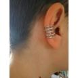Ear cuffs (кафф) Ариадна цвет серебро