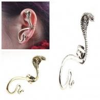 Ear cuffs (кафф) Кобра нападающая ,цвет серебро