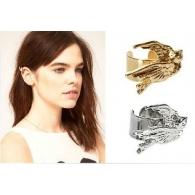 Ear cuffs (кафф) Птичка на манжете , цвет серебро