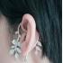 Ear cuffs (кафф) Роза фото пирсинг 1