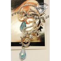 Ear cuffs (кафф) Цветочный кренделек