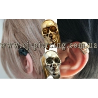 Ear cuffs (кафф) Череп