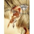 Ear cuffs (кафф) Змейка свисающая