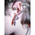 Ear cuffs (кафф) Змейка свисающая фото пирсинг 1