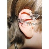 Пирсинг Ear cuffs (кафф) Альпинист производства Гонконг
