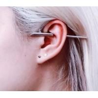 Пирсинг Ear cuffs (кафф) Пронзающий конус производства Гонконг