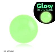 Шарик UV светонакопительный 1,6*6 / разные цвета