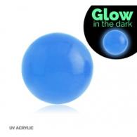 Шарик UV светонакопительный 1,2*3 / разные цвета