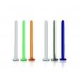 Лабрет 1,2 мм биофлекс основа / 1,2*10 / разные цвета
