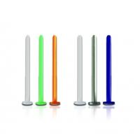 Пирсинг Лабрет 1,2 мм биофлекс основа / 1,2*20*4B / разные цвета производства Thailand