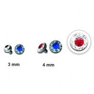 Накрутка 1,6 мм диск кристалайн / 4 мм