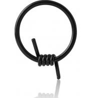 Хард 2,0 мм мед. сталь черная колючая проволока / 2,0*14