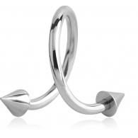 Спираль 1,2 мм мед. сталь КОНУС / разные размеры