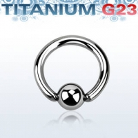 Пирсинг Хард 3 мм титан шарик титан / 3*16*8 / разные цвета производства Thailand