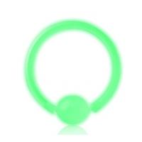 Пирсинг Хард 1,0 мм биофлекс светонакопительный шарик биофлекс / 1,0*12 производства Thailand