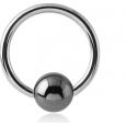 Хард 1,6 мм мед. сталь шарик гематит/ разные размеры 06-08-10-12 мм