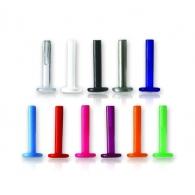 Лабрет 1,2 мм биофлекс для внутренней вставки-шляпки 1,2*10(8)