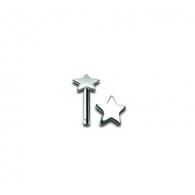 Гвоздик в нос Звезда 0,8*6,5 NOB1