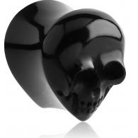 Плаг капля череп - украшение элитной серии 20 мм