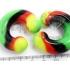 Циркуляр (подкова) силикон 8 мм / разные цвета фото пирсинг 7