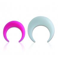 Коготь симметрия силикон 10 мм / разные цвета