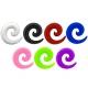 Спираль силикон 06 мм / разные цвета