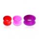 Тоннель силикон с бортами 12 мм / разные цвета