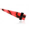 Растяжка акриловая неон мрамор 04 мм / разные цвета