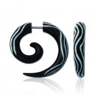 Фейк спираль рог рисунок волна