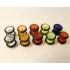 Фейк плаг акрил классик 8 мм/ разные цвета фото пирсинг 7