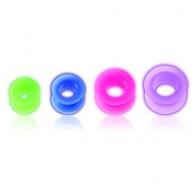 Тоннель силикон светонакопительный 16 мм / разные цвета