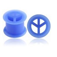 Тоннель силикон мир 16 мм / разные цвета