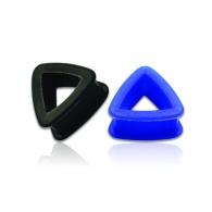 Тоннель силикон треугольник 26 мм / разные цвета