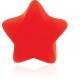 Аксессуар на шарик штанги для пирсинга языка -Звезда силикон / разные цвета