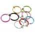 Обманка кольцо сталь анодирование розовый, 1 шт. фото пирсинг 2