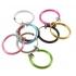Обманка кольцо сталь анодирование розовый, 1 шт. фото пирсинг 4