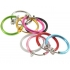 Обманка кольцо сталь анодирование розовый, 1 шт. фото пирсинг 1