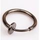 Обманка кольцо сталь анодирование гематит, 1 шт.