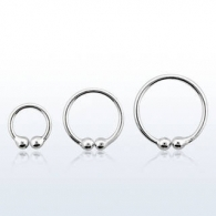 Обманка кольцо серебро 925 проба калибр 0,8 мм / разные размеры