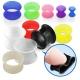 Тоннель силикон без борта 14 мм / разные цвета
