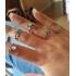 Комплект колец на пальцы и фаланги пальцев Клеопатра Антик серебро / 10 штук фото пирсинг 3