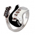 Кольцо Гитара эмаль , размер 16,18,19