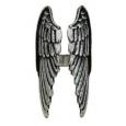 Кольцо Крылья , размер 16-19 изменяемый