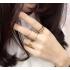 Комплект колец на пальцы и фаланги пальцев Спираль золото / 6 штук фото пирсинг 1