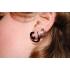Фейк спираль акрил со сквозной штангой цвет белый фото пирсинг 6